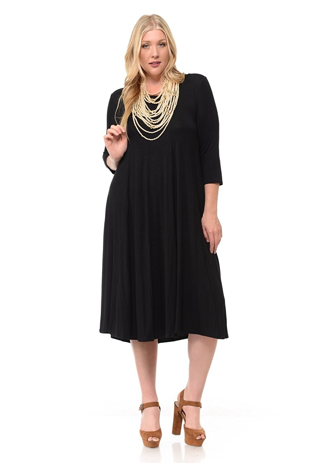 79fb85eb8e17 28 Of The Best Dresses That Come In Plus-Sizes You Can Get On Amazon