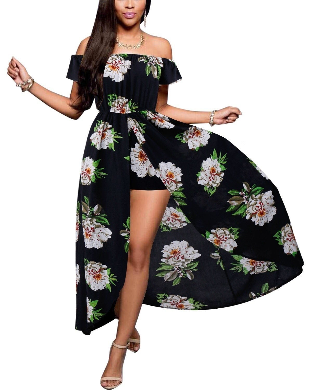 94d27da83cb6 A maxi dress with surprise shorts underneath so the wind can be your friend  instead of mortal enemy.