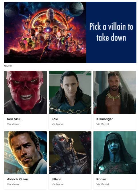 which marvel villain is your soulmate buzzfeed