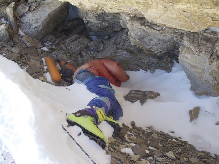 "The body of a climber named Tsewang Paljor, dubbed by many mountaineers as ""Green Boots,"" is the most well known one."