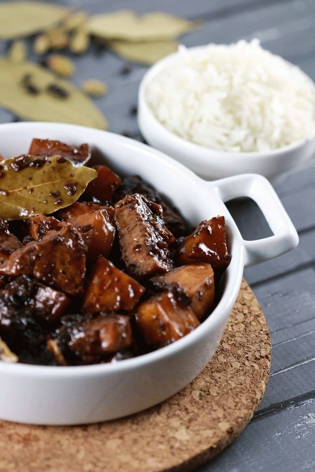 Pork Adobo and Rice (Philippines)