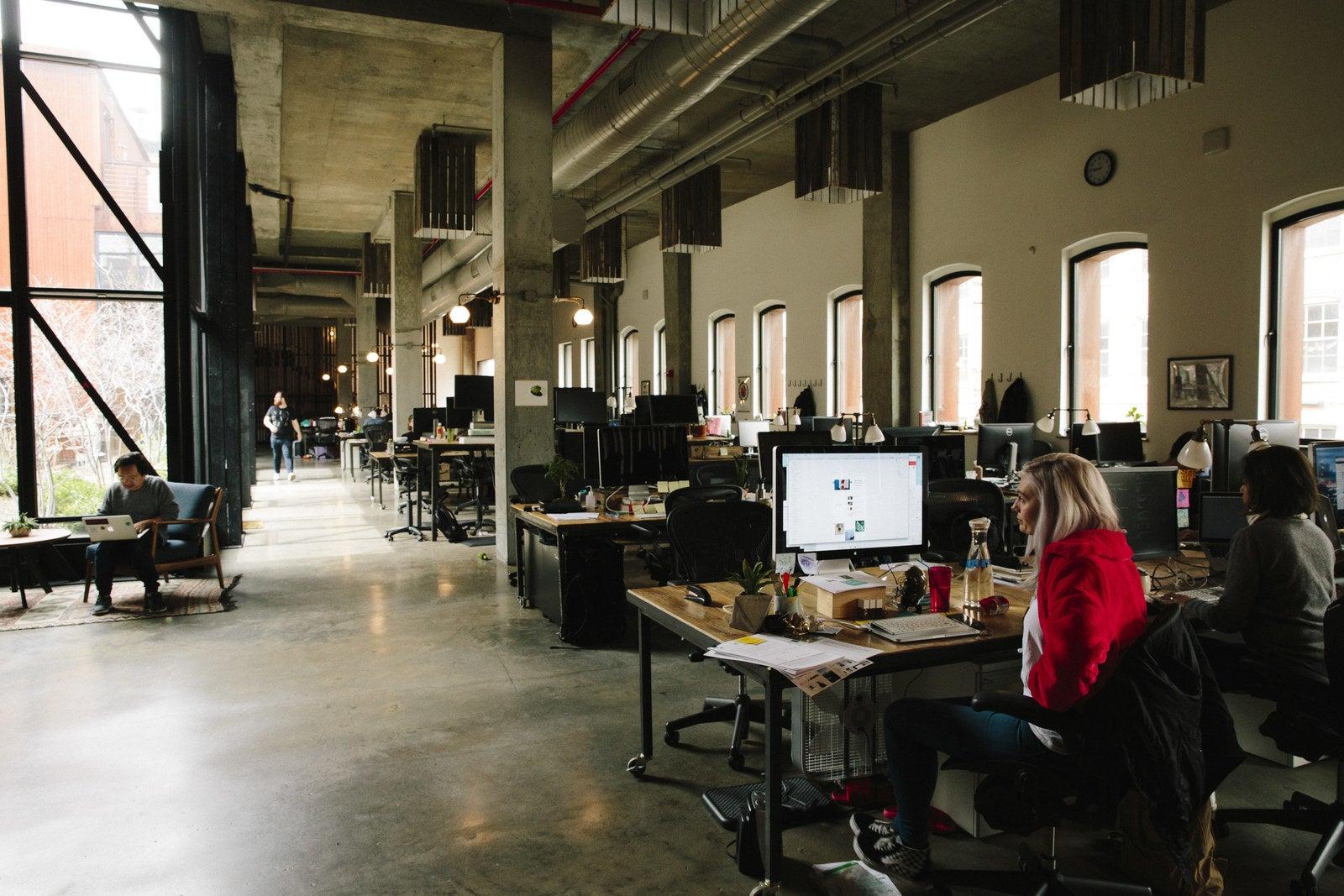 The Kickstarter office.