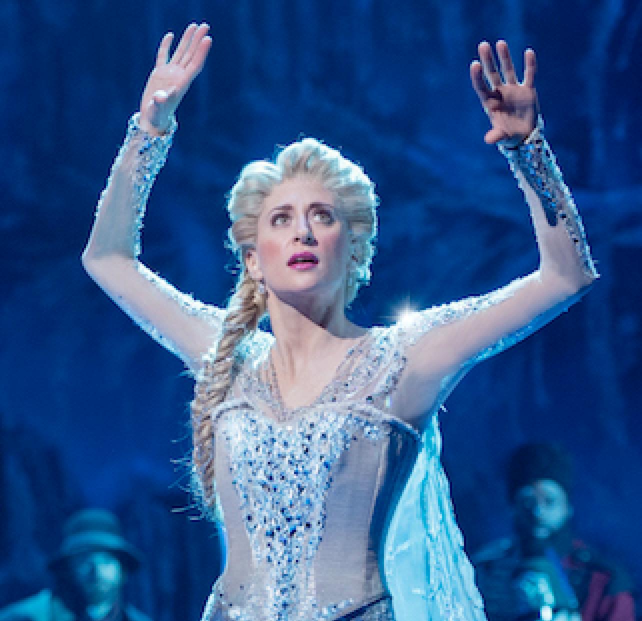 Elsa S Pantsuit In The Quot Frozen Quot Musical Is Magical Af