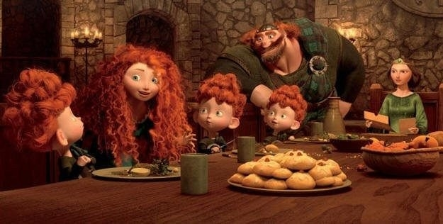 These little biscuits in Brave are a traditional Scottish dessert.
