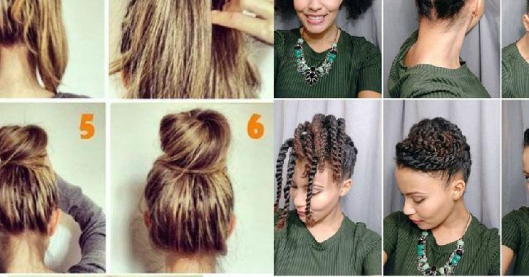 Voici Des Idées De Coiffures Simples À Réaliser Pour Les Jours Où Vous Manquez D&X27;Inspiration - Hair Beauty