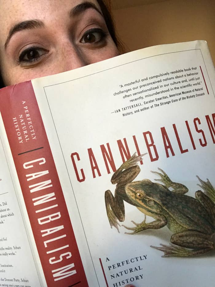 I had to read at least two books a month for class and it might sound dumb, but when I graduated I had to re-learn how to read for fun.I will always love reading nonfiction and classics, but it's really hard to read something like Cannibalism: A Perfectly Natural History after a long day at work. I wanted to be able to read just for the sake of reading again. I just needed to find some really good, contemporary fiction to get me back in the habit.