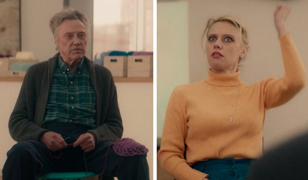 There's a Christopher Walken and Kate McKinnon sighting!