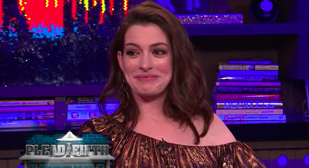 Anne Hathaway admitted that she's definitely a stoner.