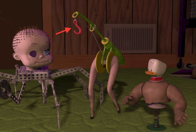 "The literal ""hooker"" in Toy Story:"