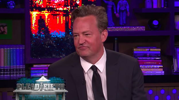Matthew Perry revealed the one Friends storyline he refused to take part in.