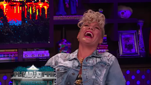 Pink revealed that one time Christina Aguilera tried to punch her in a club.
