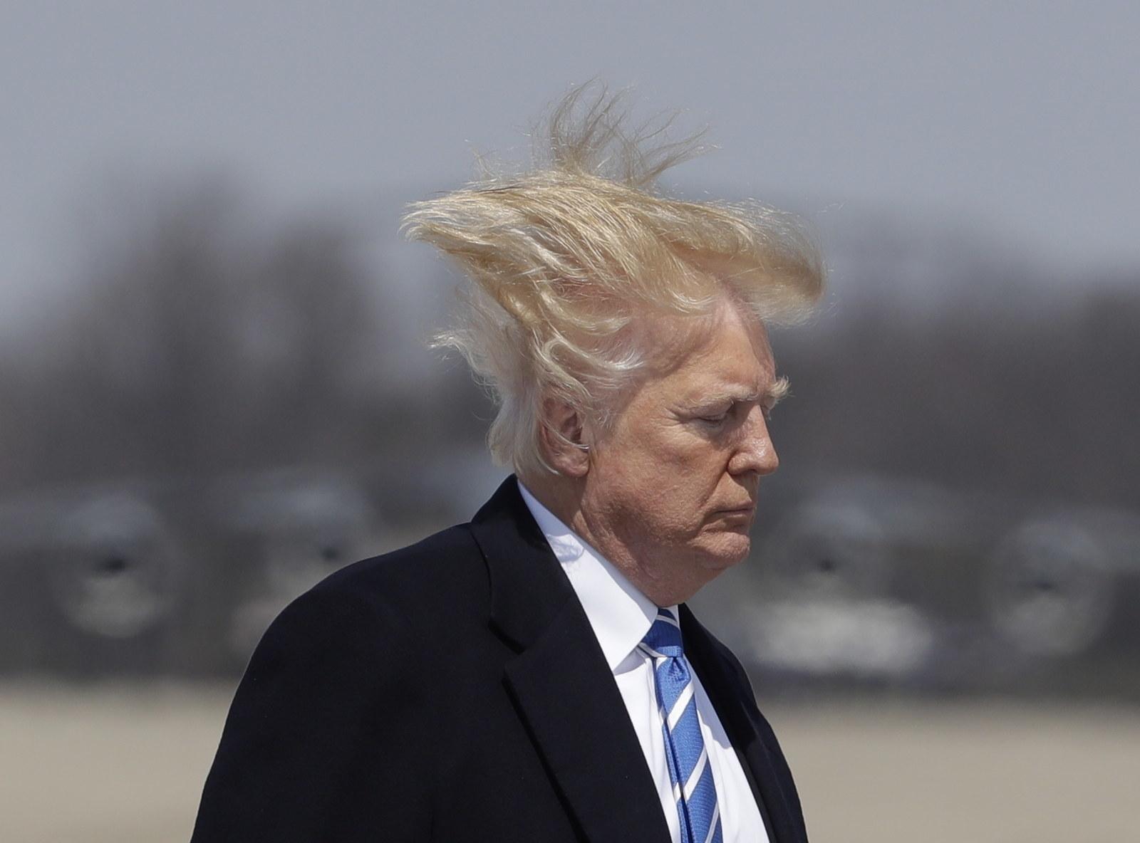 Trump Ohne Toupet