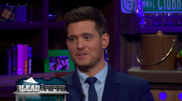 Michael Bublé revealed that he's sent many a dick pic.