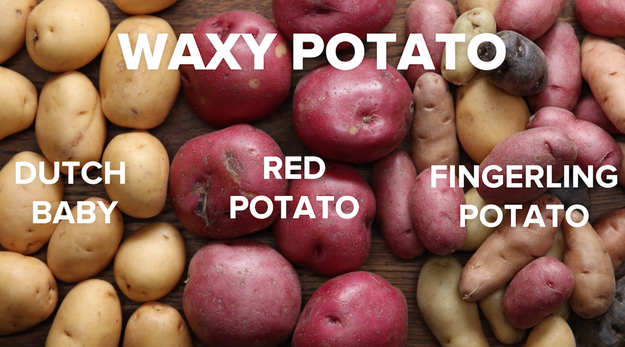 Learn the difference between the most common types of potatoes.