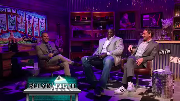 Shaq hinted that his penis is very, very large.