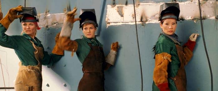 Caitlin: Lacklustre. Next. 1/10Isha: Keeeeeep it. -2/10Michelle: Oh... brown overalls for dusty metal work? Groundbreaking. 1/10 Overall rating: 0/30
