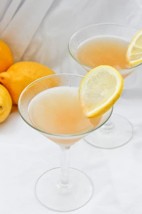Lavender Lemon Bourbon Sour