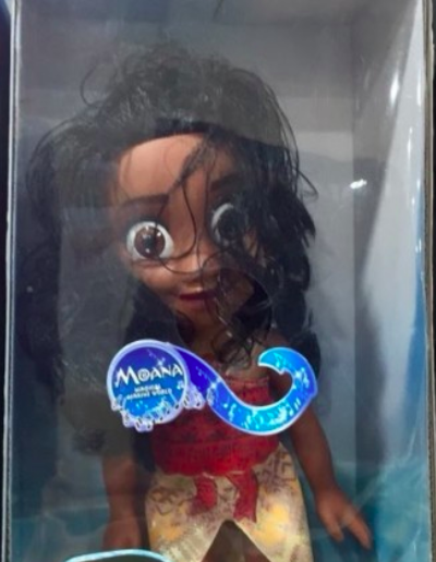 This Moana has seen things!!!!