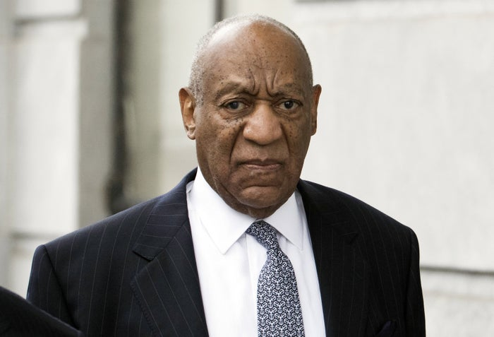 Bill Cosby arrives for his sexual assault case at the Montgomery County Courthouse on April 4 in Norristown, Pennsylvania.