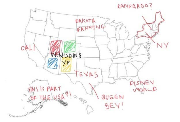 People From Around The World Tried Labeling All 50 States ...