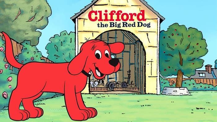 Clifford The Big Red Dog On Parade Kisscartoon