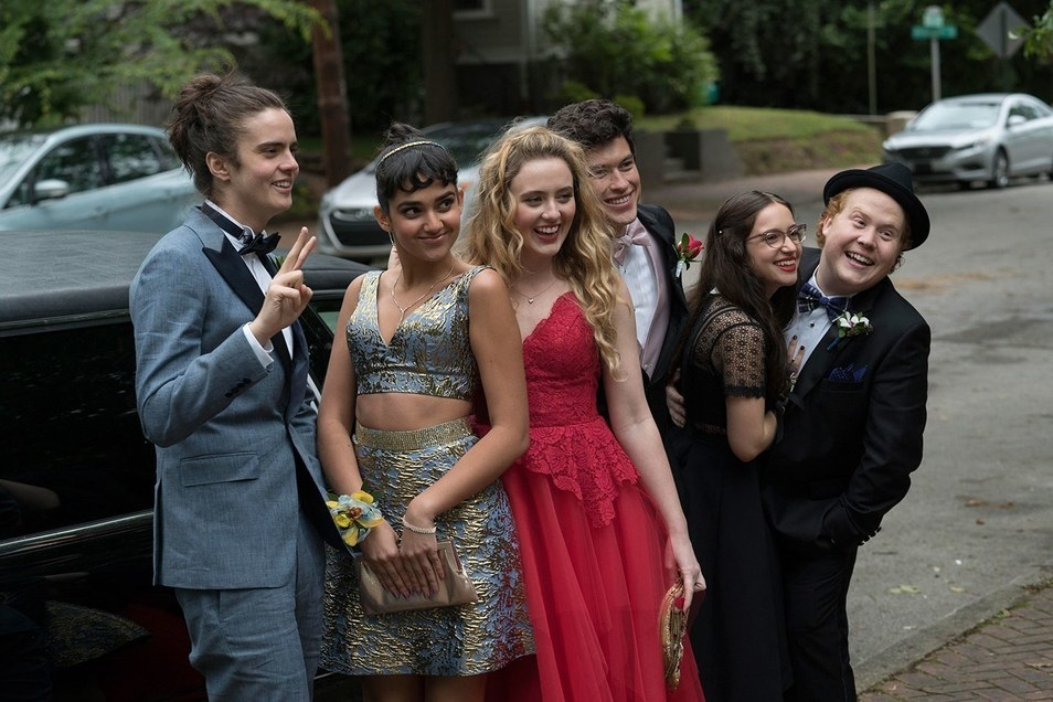 Miles Robbins as Connor, Geraldine Viswanathan as Kayla, Kathryn Newton as Julie, Graham Phillips as Austin, Gideon Adlon as Sam, and Jimmy Bellinger as Chad make up the teen cast of  Blockers .