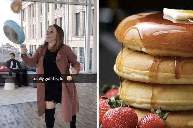 Show Us Your Best Pancake Flip Ever