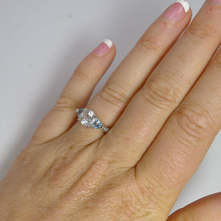 21 Conflict Free Engagement Rings You Ll Feel Good About Proposing With