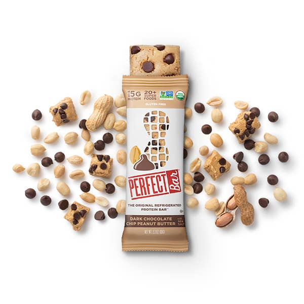 If you're a fan of nut butters and/or chocolate, then you'll need to exert some self-control when faced with a box of these bars. They're made with zero preservatives and emulsifiers, so they'll need to be refrigerated. Leave them out while you're on your workout, and they'll be perfectly soft and ready to be devoured as soon as you're back. Get an eight-pack from Perfect Foods for $24. Or get an eight-pack and pack of 24 of select flavors on Amazon for $24 or $55.93.
