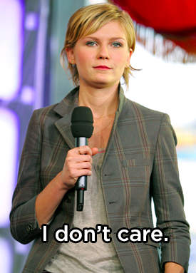 When Kirsten Dunst was asked about the new Spider-Man movies and said this: