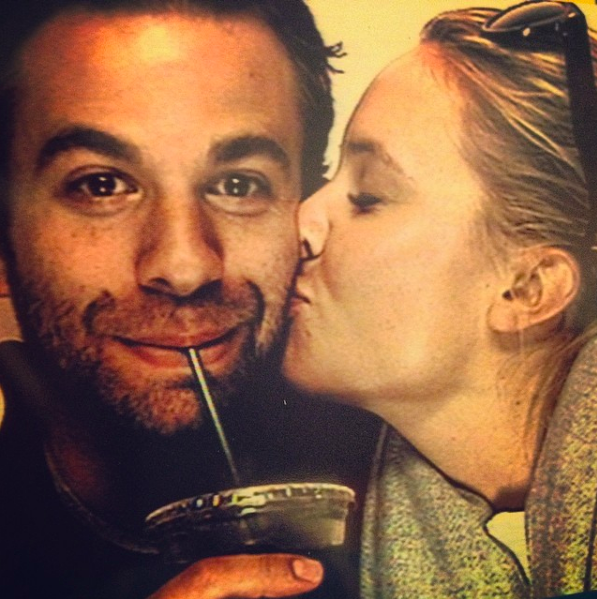 They dated for two-and-a-half years, before A.J. proposed to her on Christmas day in 2013.