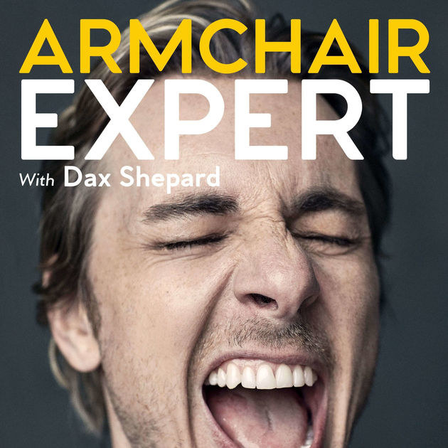"""Armchair Expert with Dax Shepard  -  """"I am not typically a podcast person because I don't have the attention span, but the very first episode got me completely hooked as he was interviewing his wife, Kristen Bell even though they were in the middle of a fight. Dax interviews other celebrities (from Ellen to Kimmel, to Pete Wentz) and essentially talk about life and what it means to be human. It is authentic and funny, and helps remind others that celebrities are people too! 10/10 would recommend!"""" — morgans45ee1b46f Listen to the podcast here."""