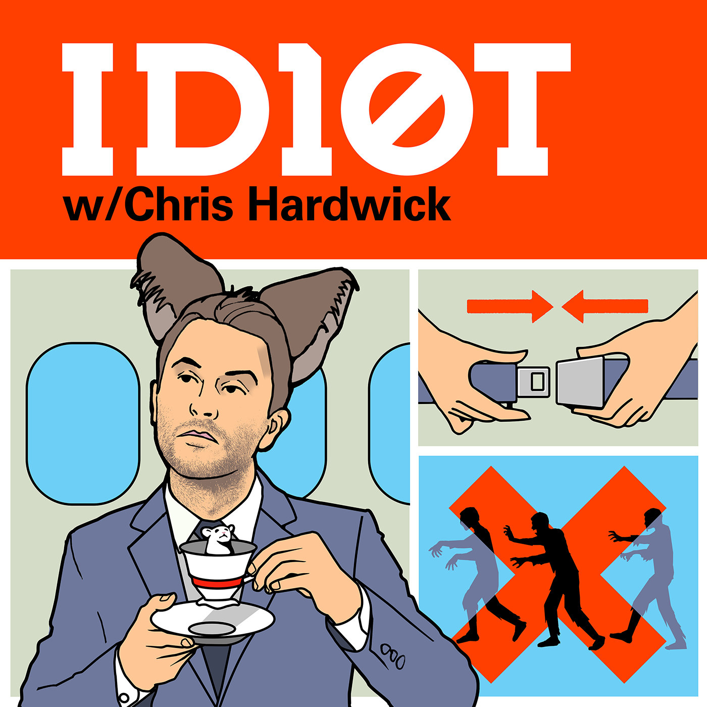 """Chris Hardwick's  ID10T  -  """" ID10T  (previously  The Nerdist ) with Chris Hardwick. He's a genuinely good guy who brings on a plethora of people. It's super interesting!""""  — toric4e069ee85 Listen to the podcast here."""