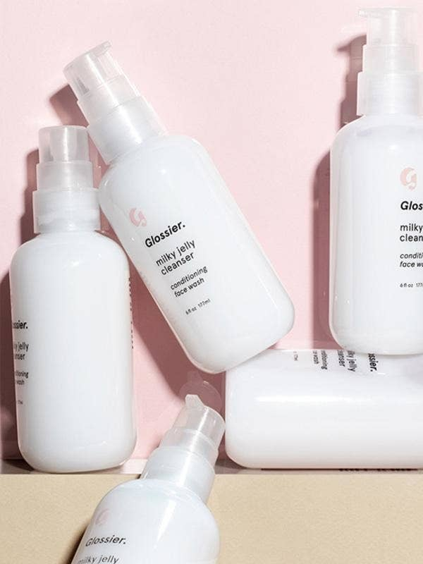 """It works well for dry, oily, and combination skin. Promising review: """"I'm a bit awful at skincare, and as a result my skin tends to be very spotty and very dry all at the same time. I've used samples of various different cleansers before, but they all irritated my skin and I could never be bothered with keeping up a skincare routine with products that actually improved my skin. I find it so indulgent and creamy. It's great to cleanse while in the bath or shower, and take of make up without using a harsh remover. It's definitely left my skin feeling refreshed and moisturized, and my skin's feeling so much better!"""" —JazzeeStardustGet it from Glossier for $18."""