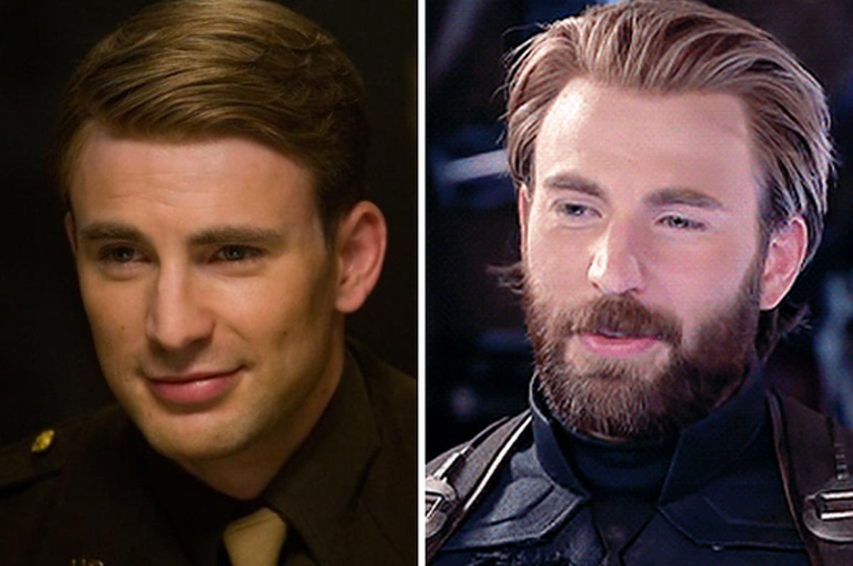 Sorry But Captain America S Beard Was The Most Important Part Of Avengers Infinity War