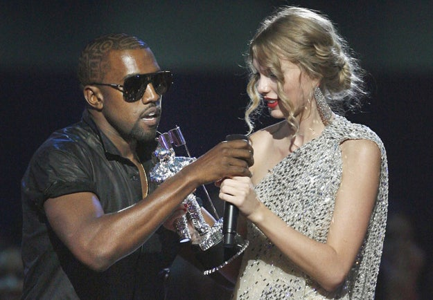 The video, which was first obtained by TMZ, was filmed a couple of days after the infamous 2009 VMAs, whee Kanye rushed the stage after Swift's win.