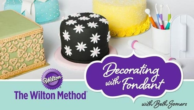If you really want to start working with fondant frustration-free, you might want to try a class for that, too.