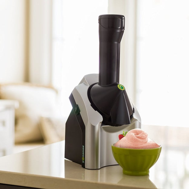 A fruit soft-serve maker, if you're looking for a healthy and easy dessert that utilizes the produce you already have hanging around the house.