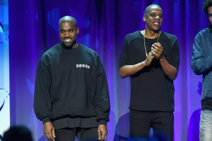 """The two had a public falling out when Kanye accused Jay-Z of avoiding his calls in a rant during his Saint Pablo Tour's Sacramento stop. Kanye also accused Beyoncé of refusing to perform at the VMAs unless she won Video of the Year — a category his """"Fade"""" video was also nominated in."""