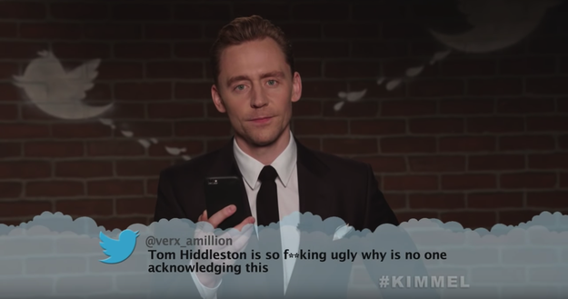Here's Tom Hiddleston, aka Loki, acknowledging this.