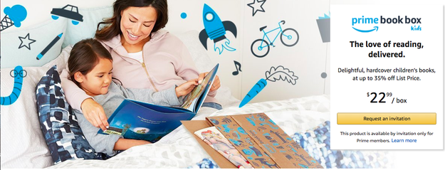 Amazon Just Started A Kids Books Subscription