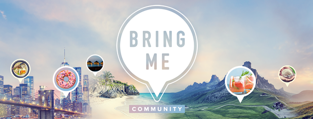 Looking for even more travel in your life? Then you should join our Bring Me Community Facebook group to talk about it to your heart's content!
