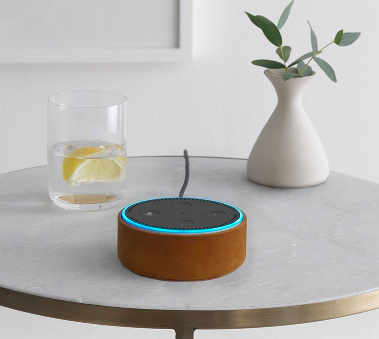 "The Echo Dot is a hands-free, voice-controlled device that uses Alexa to play music, control smart home devices, make calls, send and receive messages, provide information, read the news, set music alarms, and read audiobooks from Audible (like, literally I have told her to tell me a bedtime story and she does a way better job of it than my spouse — and with far less complaining). The Echo Dot can also control Amazon Video on Fire TV, give random facts throughout the day, tell you the weather (which I use literally every morning instead of just opening my curtains and letting in some light), and can help you with grocery lists, recipes, and set timers... I'm still just trying to figure out what my Echo Dot CAN'T do. Promising review: (Echo Dot) ""I love this incredible little helper! It was super easy to set up and I was playing music in my stereo within 15 minutes. I have two, and I set up a group so the music can play on both dots at the same time. They respond quickly to voice commands and it's rather fun to check out what they can do. The funniest thing is to ask Alexa to tell me a vegetable joke! And the most useful for me is being able to tell Alexa to add things to my shopping list, which is sent to my phone, and not having to write things down. You can even set reminders so you don't forget things, timers so you don't burn dinner, and alarms that wake you. I'm going to explore and see what all this little device can do!"" —CactusMamaGet it from Amazon for $49.99."