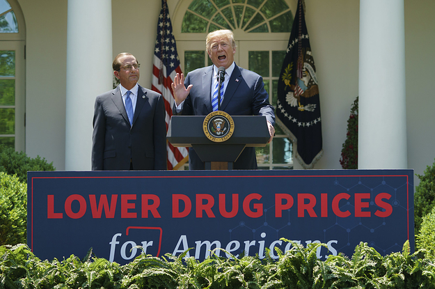 photo image Trump Is Promising To Lower Drug Prices, But Experts Doubt It Will Happen