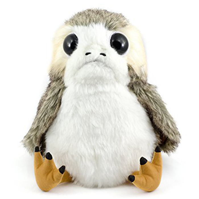 "Reason you need him: He will be the most loyal friend you've ever had.Promising review: ""I love him. He a porg. He good."" – KevinPrice: $21.49"