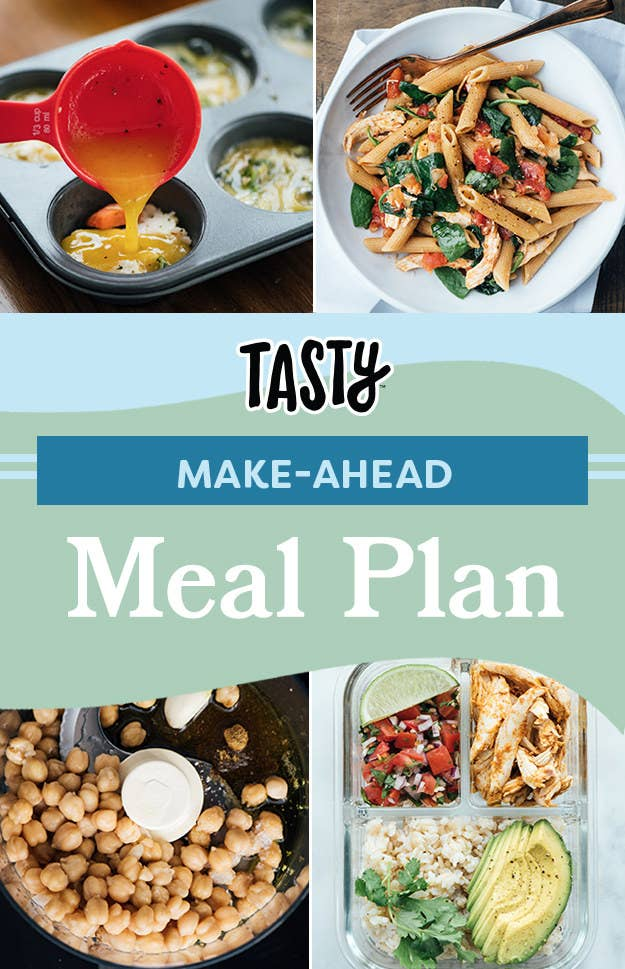 tasty s 7 day meal plan will help make your week so much easier