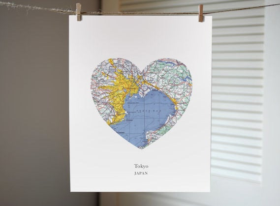 """You can choose from their selection, or have one custom made!Promising review: """"I was looking for a personalized gift and this was perfect! I was very happy with how the print turned out and the seller was a pleasure to work with."""" —DarleneGet it from A Gier Design on Etsy for $12+."""