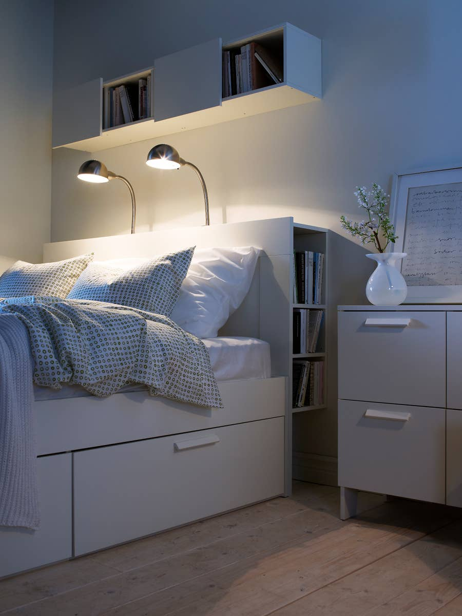 8 Game-Changing Storage Solutions For Tiny Bedrooms