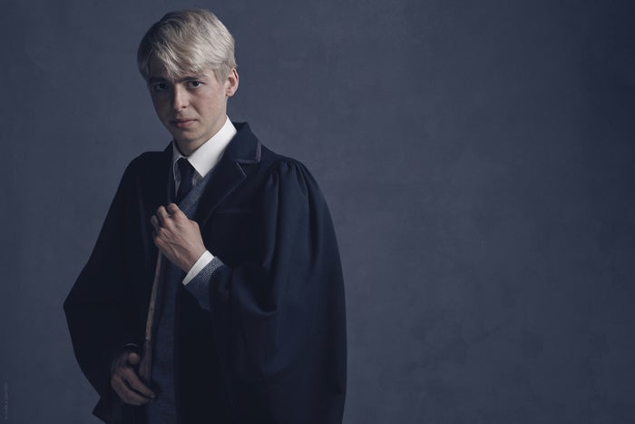 Anthony Boyle as Scorpius Malfoy in Harry Potter and the Cursed Child.