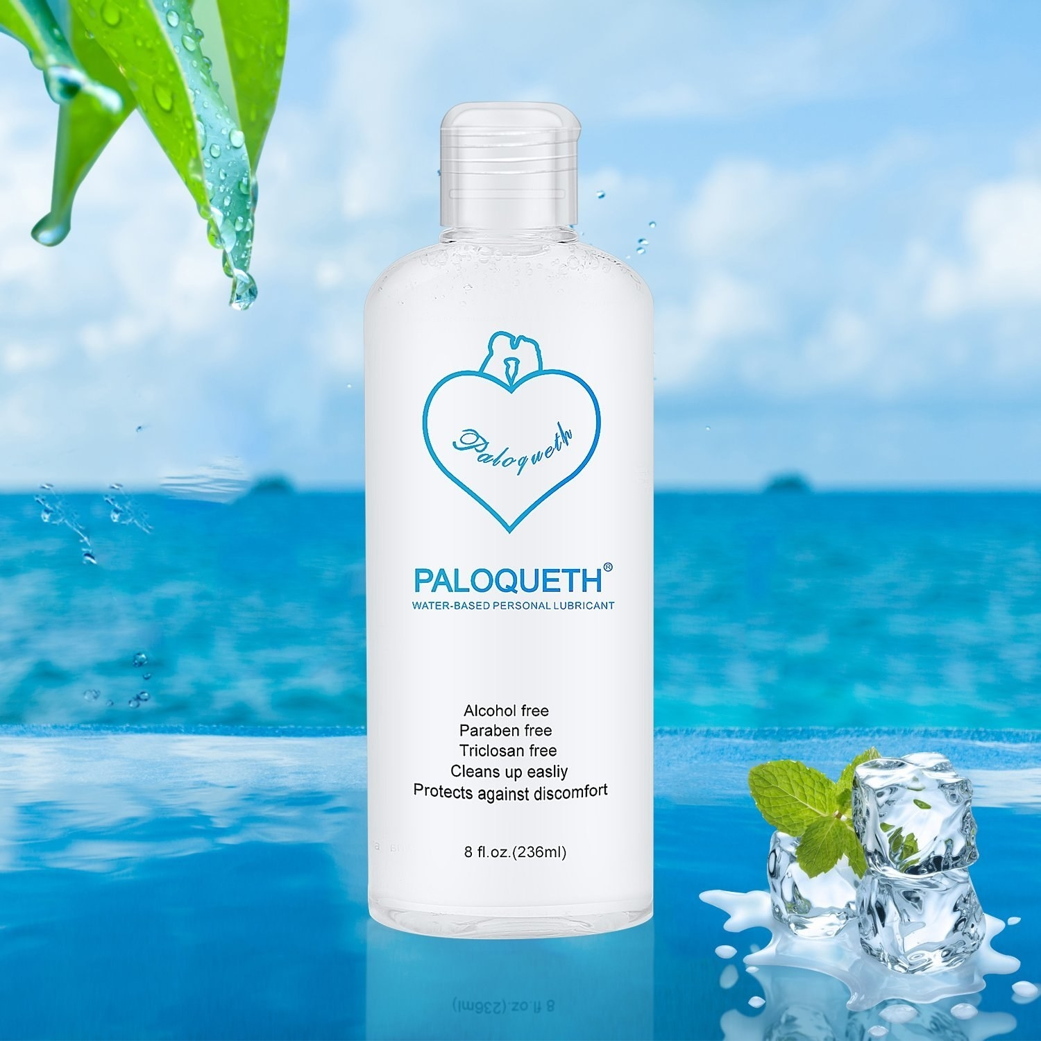 """This is water-based, so sex toys are free game. Promising review: """"Exactly what I was looking for in a personal lubricant. It has a good consistency, lasts long, and best of all the clean up is a breeze. With this stuff, all you basically need to do is wipe it up. Even without water, using a dry tissue or towel there is little to no residue left over on your skin."""" —Michael Carrillo Price: $9.99"""